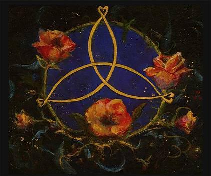 Celtic Rose by Maureen Girard