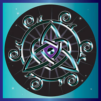 Celtic Triquetra Heart by Ireland Calling