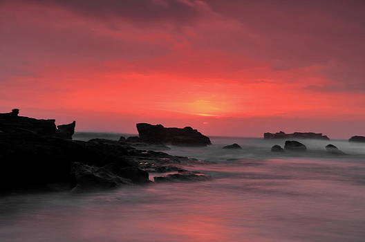 Cemagi Beach Sunset by Wayan Suantara