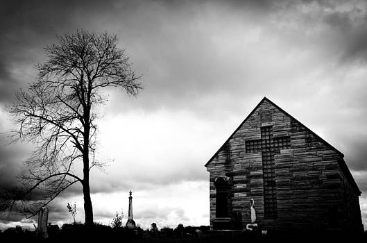 Cemetery Chapel by Off The Beaten Path Photography - Andrew Alexander