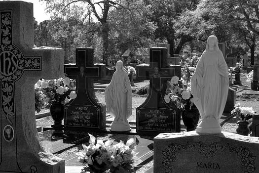 Cemetery in Black and White by Karsun Designs Photography