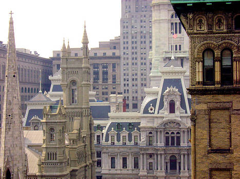 Center City Philadelphia by Cynthia Harvey