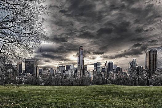 Central Park and Skyline by Joe Josephs