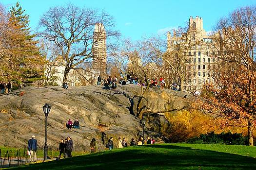 Central Park by Gary Dunkel