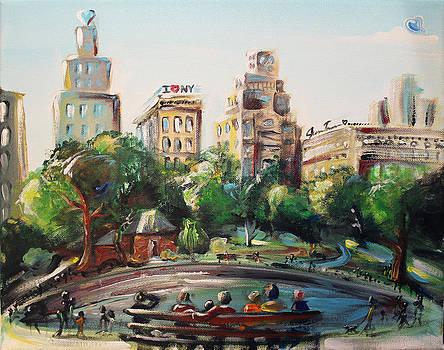Central Park by Jennifer Treece