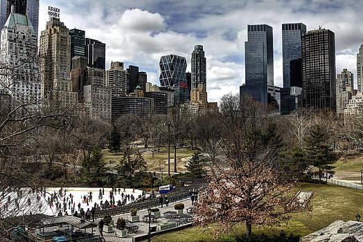 Central Park NYC - Wollman Rink by Joe Paniccia