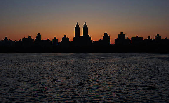 Central Park sunset by Eric Keesen
