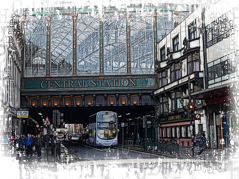 Central Station Glasgow by Fiona Messenger