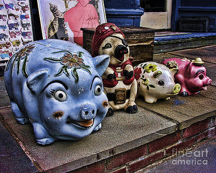 Anne Ferguson - Ceramic Piggies