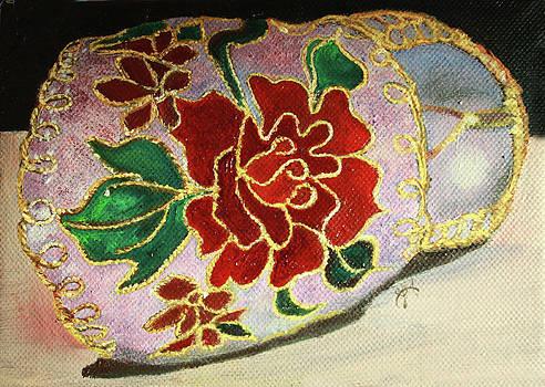 Jane Autry - Ceramic shoe