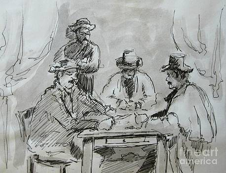John Malone - Cezanne Card Players