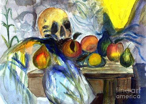 Donna Walsh - Cezanne Still Life with Skull