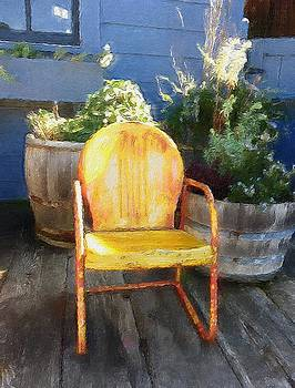 Chair On The Porch by Joie Cameron-Brown