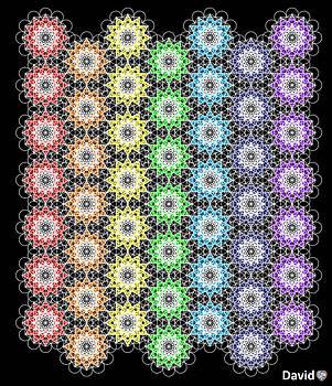 Chakra Healing Grid by David Diamondheart