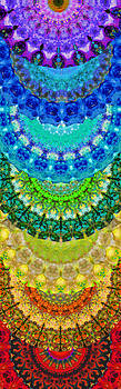 Sharon Cummings - Chakra Mandala Healing Art by Sharon Cummings