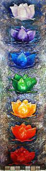 Chakras Expression by Raya Finkelson