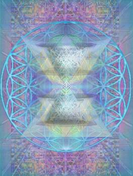 ChaliceSpheres and Flower of Life Latticework by Christopher Pringer