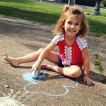 Chalk Time With Rylee💚 by Colleen Callais