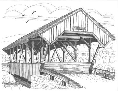 Richard Wambach - Chamberin Mill Covered Bridge