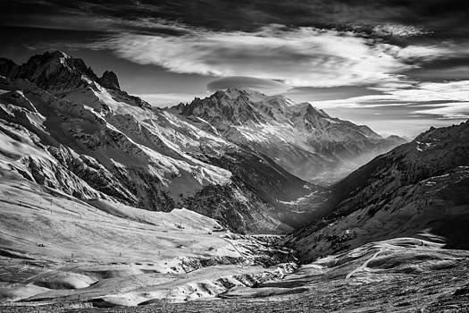Chamonix Valley by Darko Ivancevic