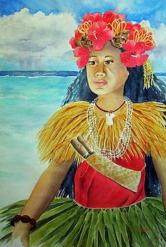 Chamorrita Dancer by Kathleen Rutten