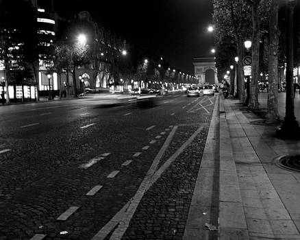 Champs Elysees - Paris by Lisa Parrish