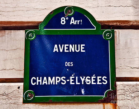 Champs-Elysees by Jaymes Williams