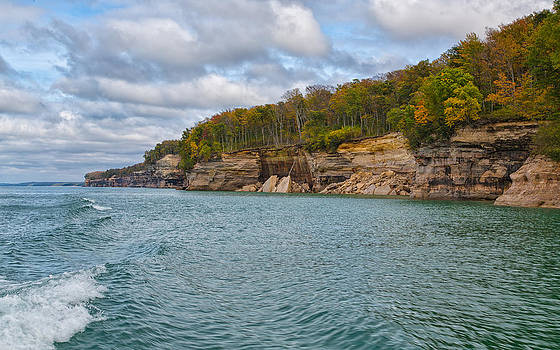 Changing Faces at Pictured Rocks National Seashore by John M Bailey