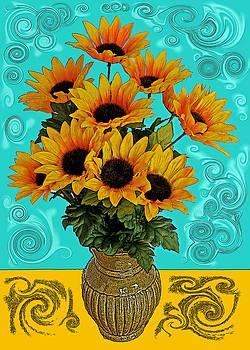 Channeling Van Gogh by Liz Mackney