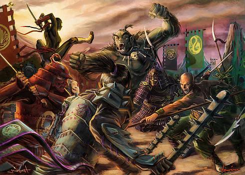 Chaos of Battle by Alberto Tavira