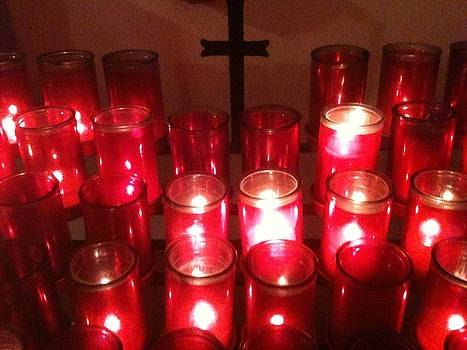 Chapel Candles by Tina Nies