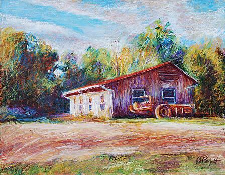 Chapel Hill Creamery Barn by Bethany Bryant