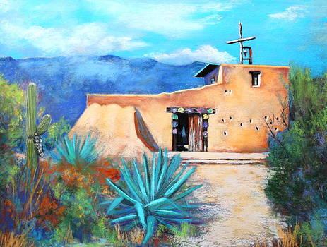 Chapel In The Sun 3  by M Diane Bonaparte