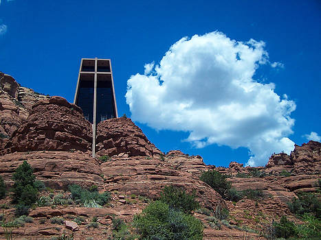 Chapel of the Holy Cross in Sedona by James Gordon Patterson