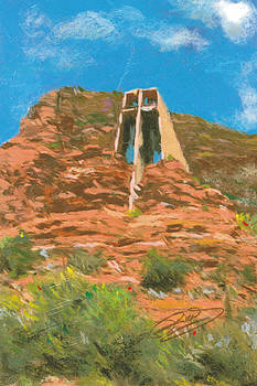 Chapel of the Holy Cross by Richard Booker