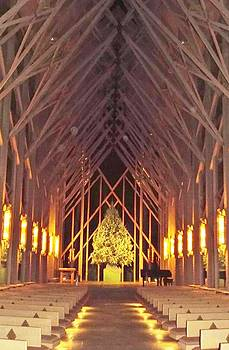 Chapel of Wood and Glass by Cindy Croal