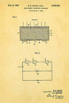 Ian Monk - Chapin Solar Cell Patent Art 1957