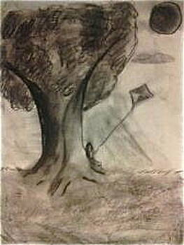 Lee Farley - charcoal doodle