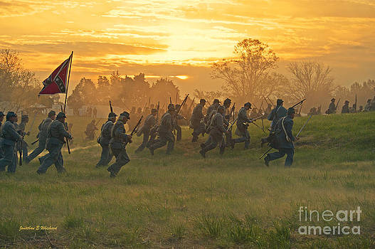 CHARGE 150th Civil War by Jonathan E Whichard