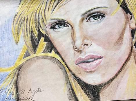 The Stare by Fladelita Messerli-