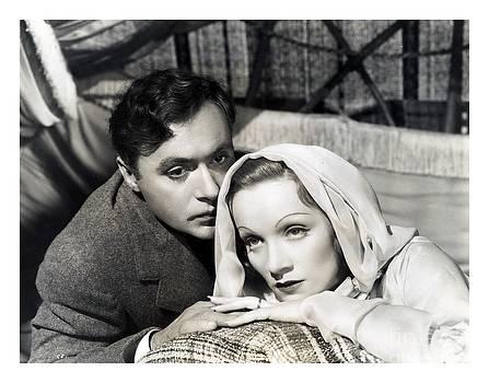 Charles Boyer w Marlene Dietrich by C Slater