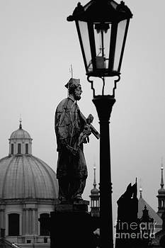 Colin Cuthbert - Charles Bridge Domes and Statues