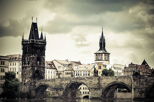 Charles Bridge in Prague by Georgina Noronha