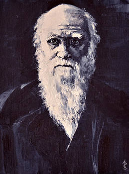 Charles Darwin by Anthony Sell