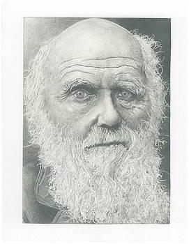 Charles Darwin by Gabriel  Palcic