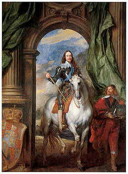 Sir Anthony Van Dyck - Charles I with M de St Antoine