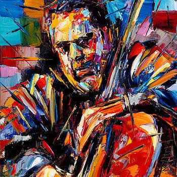 Charles Mingus by Debra Hurd
