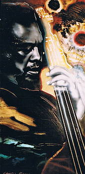 Charles Mingus by Mireille  Poulin