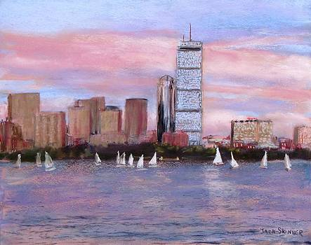 Charles River Boston by Jack Skinner