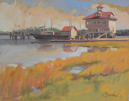 Charleston Dock by Todd Baxter